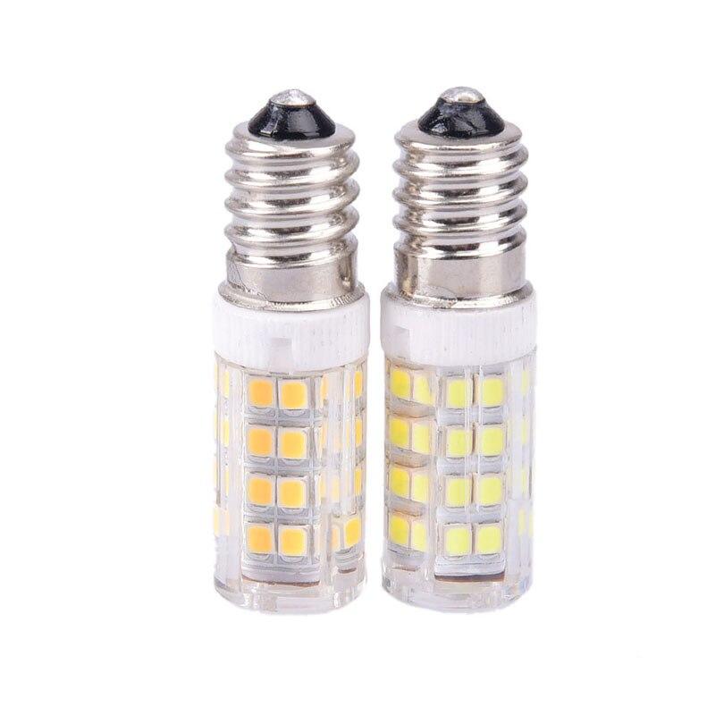 E14 LED Bulb AC 200-240V LED Lamp 2835 SMD 5W Corn Lamp LED Spotlight Replace Halogen Chandelier Light
