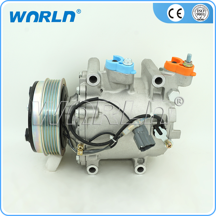 AUTO A/C COMPRESSOR for HONDA Fit/Jazz GE6/GE8/City GD3/GM2/CM3/GE2 1.2 1.4 1.5 TRSE07 38810-RB0-006AUTO A/C COMPRESSOR for HONDA Fit/Jazz GE6/GE8/City GD3/GM2/CM3/GE2 1.2 1.4 1.5 TRSE07 38810-RB0-006