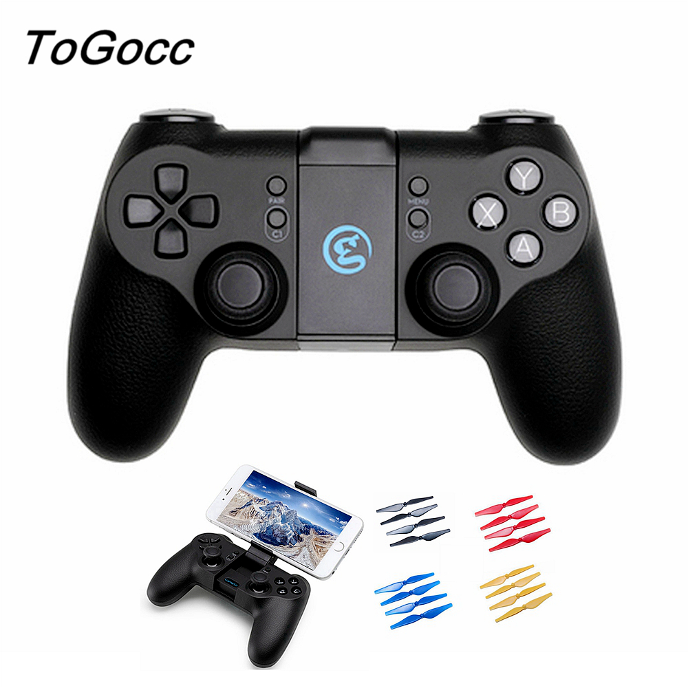 Tello Remote Controller Propeller for DJI Tello GameSir T1d with Battery 600MA Drone Control Accessories 2 pcs original dji tello drone battery