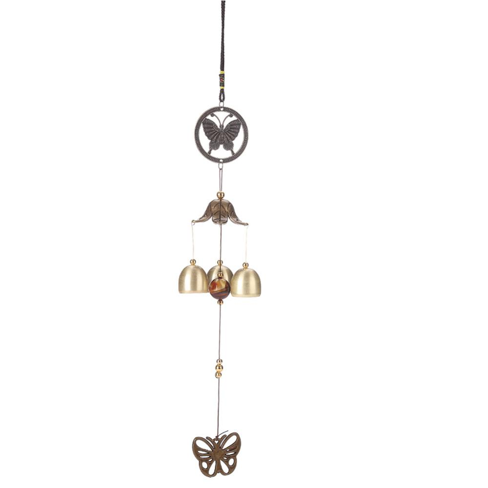 Antique Wind Chime Copper Yard Garden Outdoor Living Decoration Metal Wind Chime