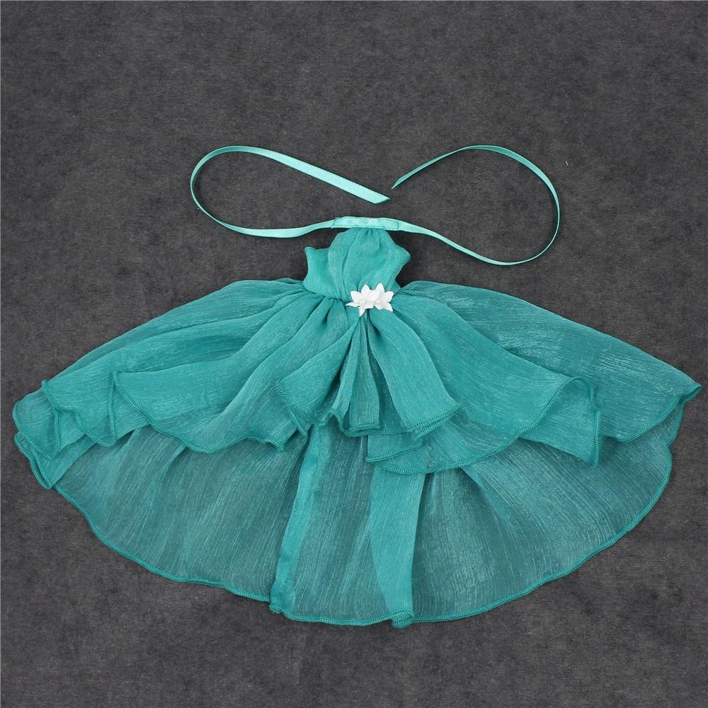 Neo Blythe Doll Chiffon Dress with Flower 22