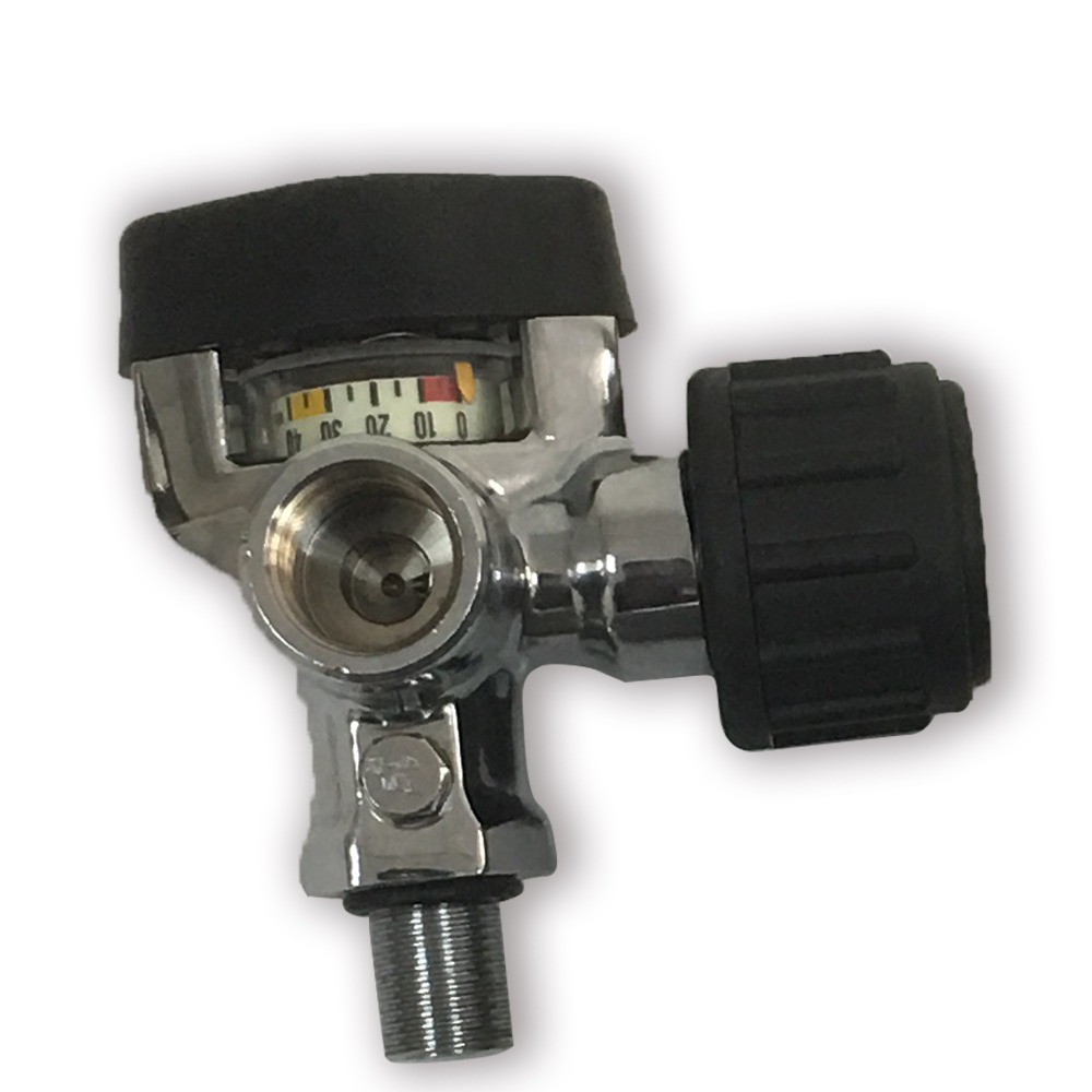 AC921 Acecare Paintball Equipment Gauge Valve Hpa 4500psi M18*1.5 For Cylinder Pcp Compressed Air Scuba Tank