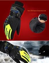 GLV861 men and women lovers warm ski font b gloves b font winter outdoor prevent slippery