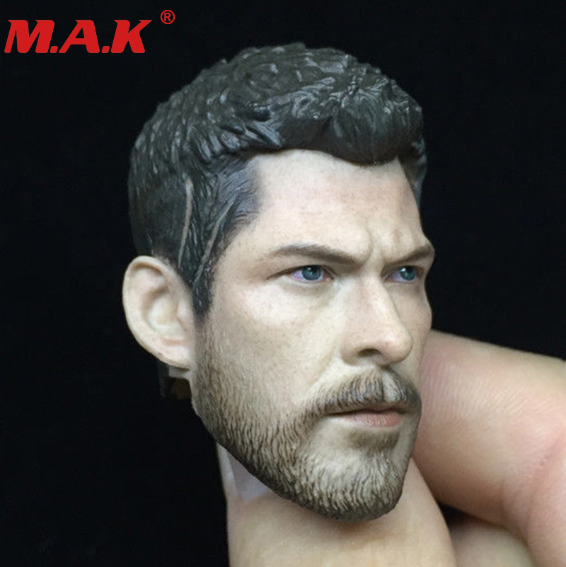 """1//6 Thor Head Sculpt Carved Model F 12/"""" Male Action figure Collectible Toys Doll"""