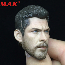 1/6 scale male man boy head sculpt Thor Raytheon head carving the Avengers series figure model for 12 action figure body цена
