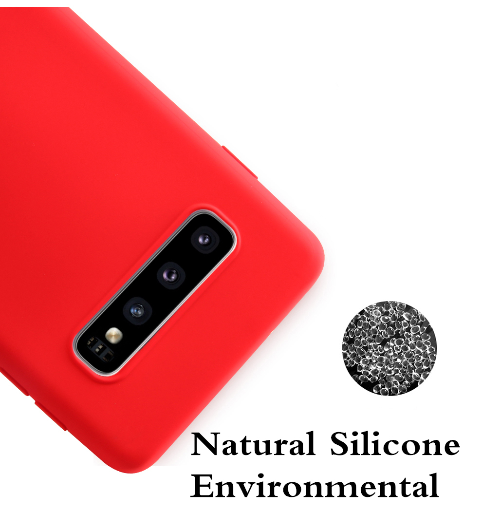 Official Original Liquid Silicone Case Cover for Huawei P30 Pro P20 Lite P10 P8 P Smart Plus Mate 10 20 Y5 Y6 Y7 Prime Y9 2019 in Fitted Cases from Cellphones Telecommunications