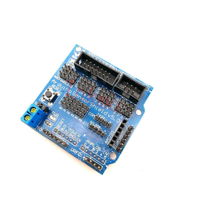 V5.0 Sensor Shield expansion board for arduino electronic building blocks robot accessories Sensor Shield V5 expansion board oled shield for espea arduino development board