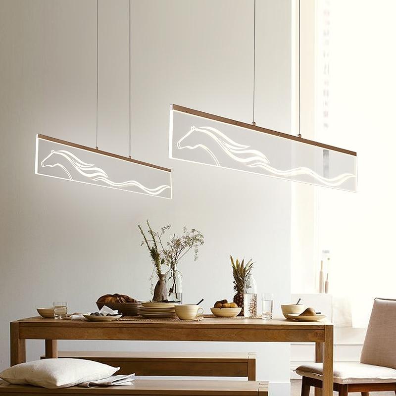 Modern Pendant Lights Kitchen Living Dinging Room Light Fixtures LED Hanging Lamp Lumina ...