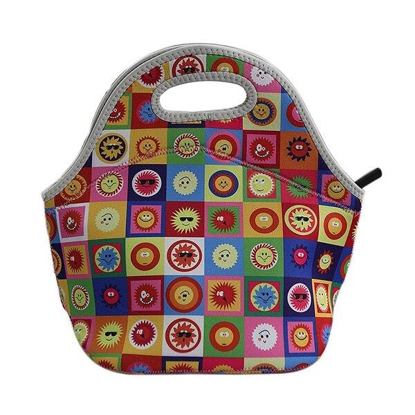 новая мода 100% дизайнер неопрен кулер изоляции водонепроницаемый термальность обед сумки для женщин дети популярные