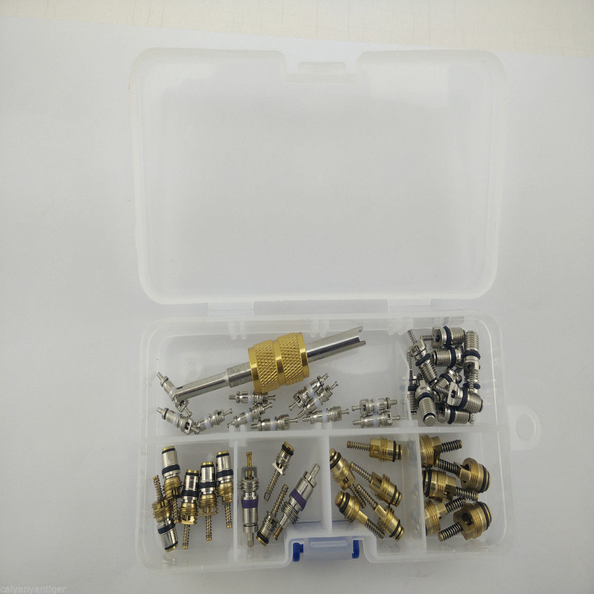 41×A//C Valve Core Valves R12// R134A Car Air Conditioning Valve Core Remover Kit