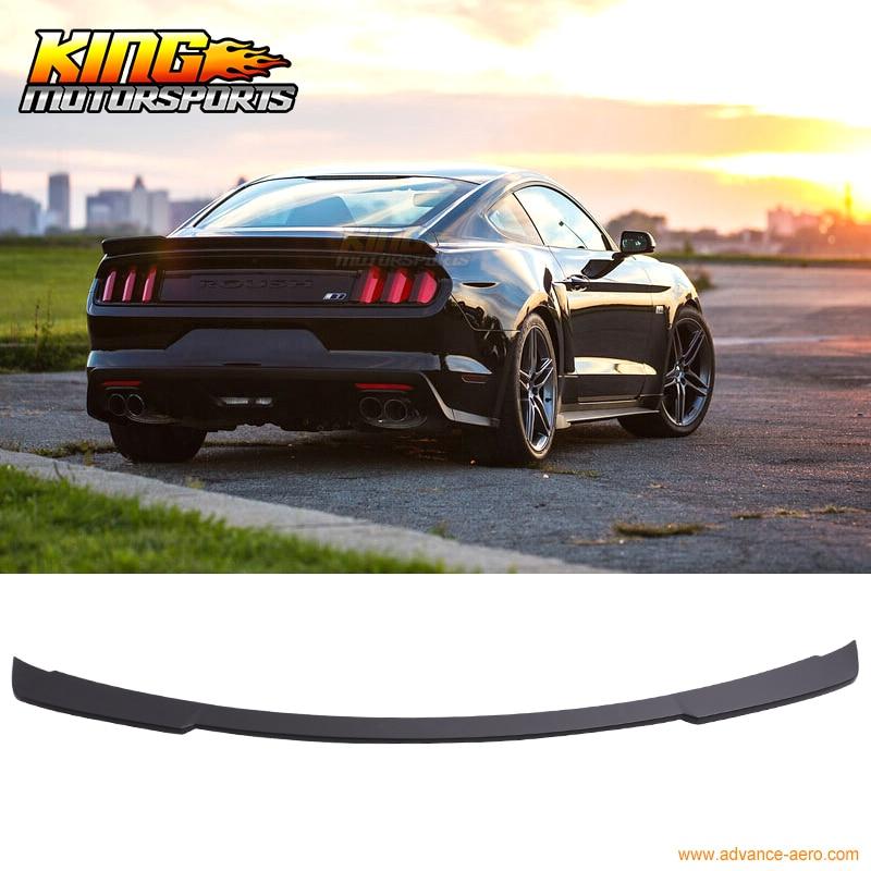 Pour 15-16 Mustang RO Style becquet de coffre OEM peint Match noir mat ABS
