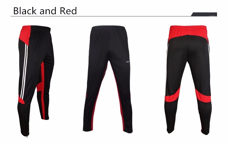 Soccer Training Pants Men Joggers Slim Skinny Jogging Running Tights Trousers Tracksuits Bottoms survetement football 2017 5