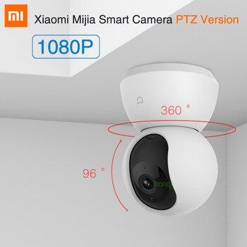 Xiaomi MI Mijia Samrt Camera PTZ 1080P Smart Camera IP Cam Webcam Camcorder 360 Angle WIFI Wireless Night Vision For Mi home APP