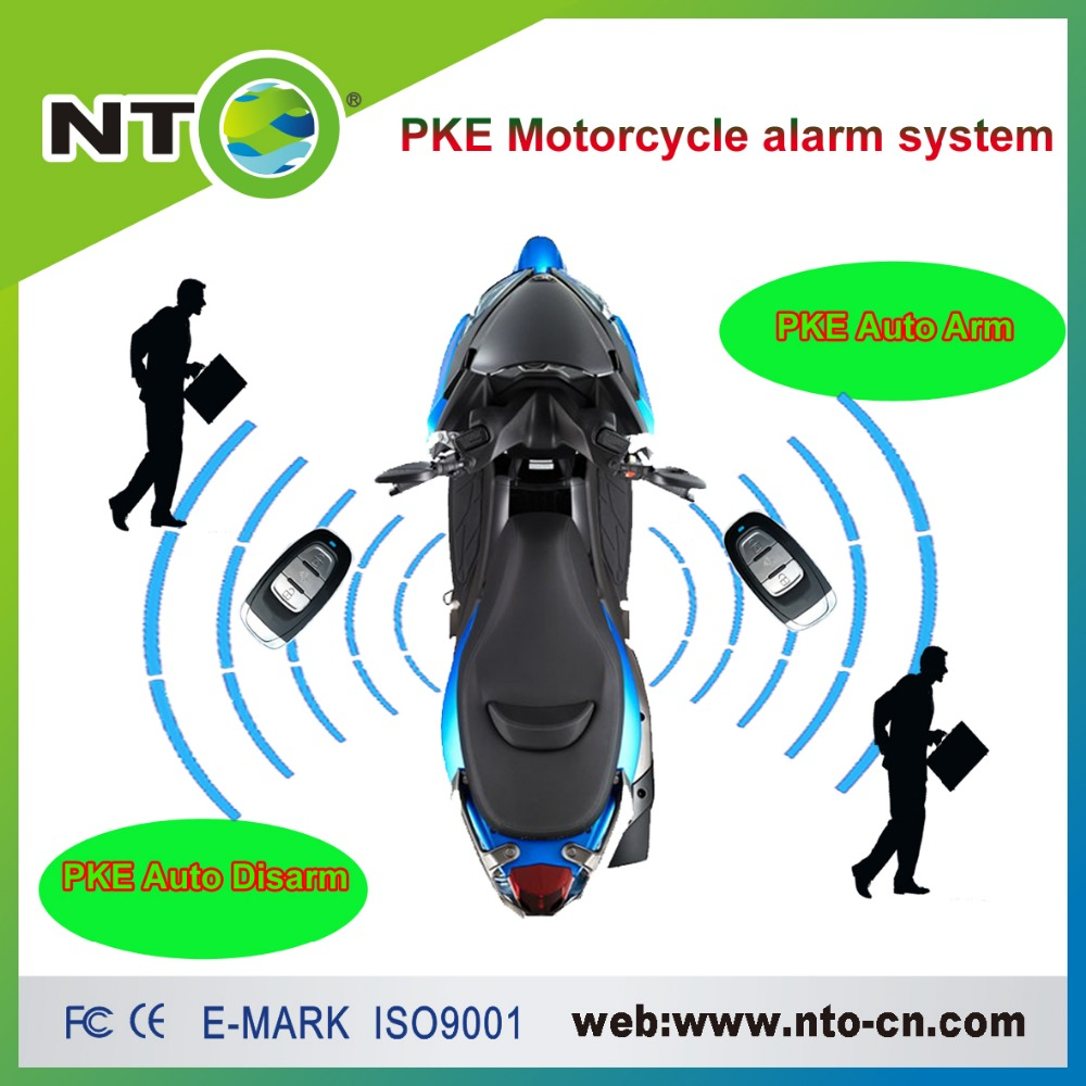 NTG02P motorcycle GPS GSM APP Start the engine by remote fuel cut with one PKE auto arm disarm remote controller
