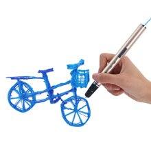 3D Scribble Pens with Filament Lapiz 3D Printing Pen for School
