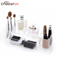 CHOICE FUN Fashion Practical Cosmetic Container Acrylic Makeup Organizer Stationery Organizer Storage Container SF 1504