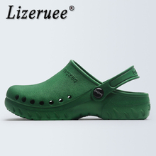 Lizeruee Summer Clogs Surgical Shoes Medical shoes Hospital Experiment CaveShoes Operating Room Slippers Doctor CS579
