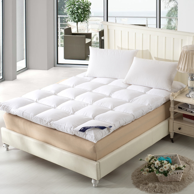 Hot Sales White Duck Down Goose Feather Filler Bed Mat 233TC Layers Mattress Four Size Hot Sales White Duck Down Goose Feather Filler Bed Mat 233TC Layers Mattress Four Size