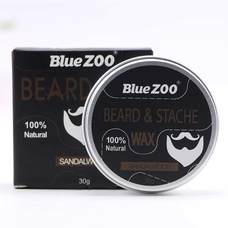 4 Flavours Natural Organic Beard Balm for Dashing Gentlemen Beard Professional Tool Conditioner Beard Oil Care Random Delivery 1