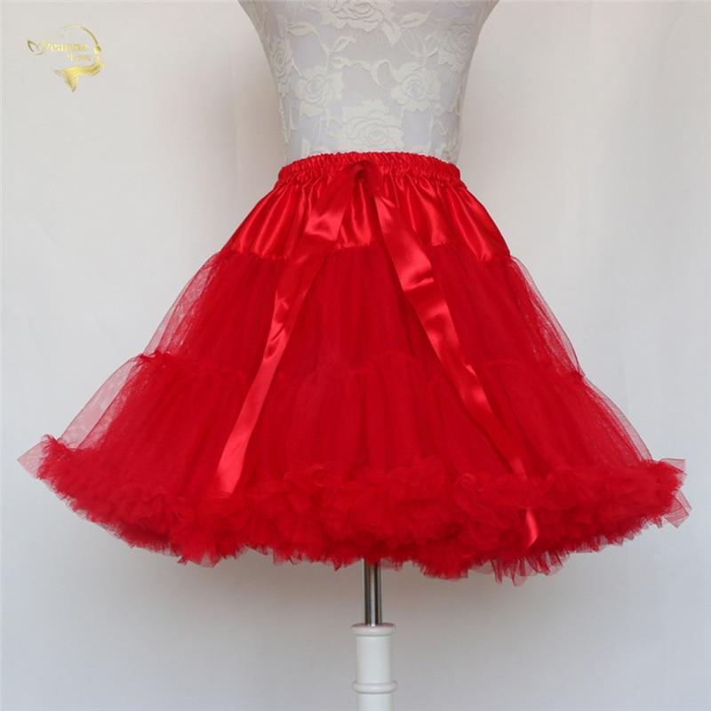 Black Fashion Ball Gown Underskirt Swing Short Dress Petticoat Lolita Petticoat Ballet Tutu Skirt Rockabilly Crinoline Boneless