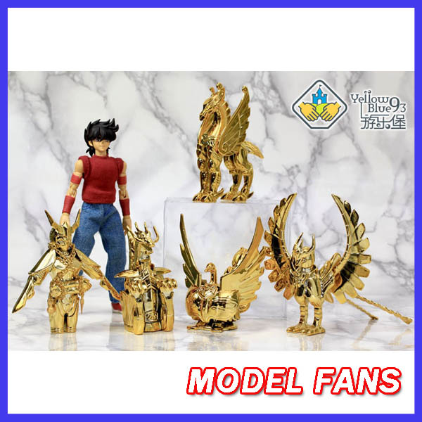 MODEL FANS YellowBlue93 Saint Seiya Myth Cloth gold Pegasus Dragon Cygnus Andromeda Phoenix Cloth form Electroplating Ver. Set фиксатор распредвала vw audi jtc 4412