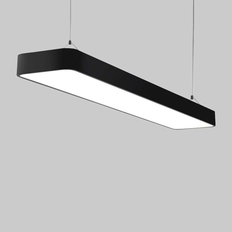 Office Pendant Lighting Creative DIY Office Pendant Lights Modern Hang Lamp Suspension Luminaire Black/White Pendant Lamp H 10cm 10 lights modern minimalist creative dna molecular led pendant lights for bar home lighting plated bulb suspension luminaire