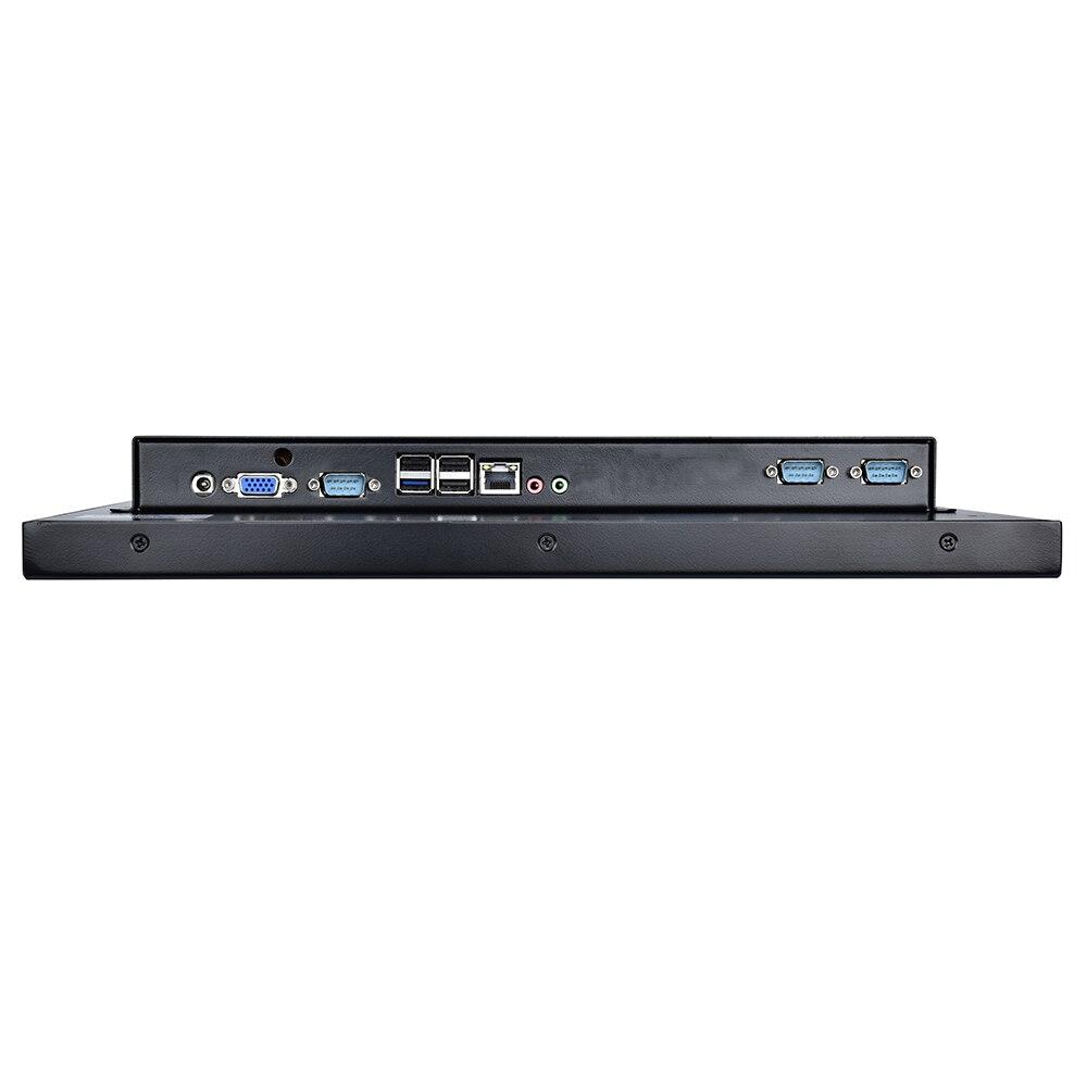 טלוויזיות 25-29 19 לוח PC תעשייתי אינץ LED Intel Celeron 3855U עם 5 Wire התנגדותי Touch Screen 1VGA / 3USB2.0 / 1USB3.0 / 1LAN / 3COM / FAN (5)