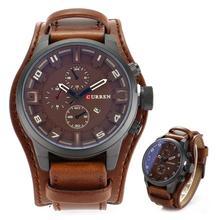 Curren Кварцевые часы для военных мужчин s часы лучший бренд класса люкс мужские наручные часы с кожаным ремешком повседневные спортивные мужские часы Relogio Masculino