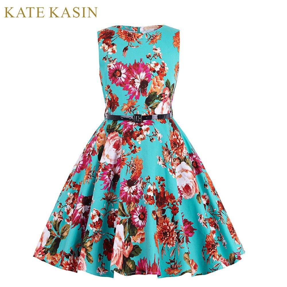 Echt Bild Blume Vintage Blume Mädchen Kleider für Hochzeit Kommunion ...