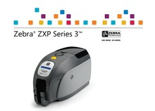 Zebra ZXP Series 3 HD card printer use special color ribbon for business etiquetadora