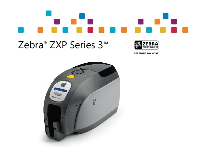 Zebra ZXP Series 3 HD card printer use special color ribbon for business etiquetadora original color printer ribbon id card color ribbon used with zebra zxp series 3 printer part no 800033 340cn