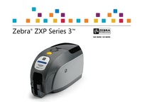 Zebra ZXP Series 3 HD card printer use special color ribbon for business etiquetadora