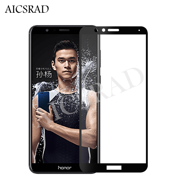 AICSRAD Honor7X Full Cover Tempered Glass For Huawei Honor 7X Screen Protector...