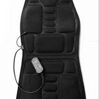Massage Mattress Full Body Heated Massager Mat Remote Control Cushion Foldable