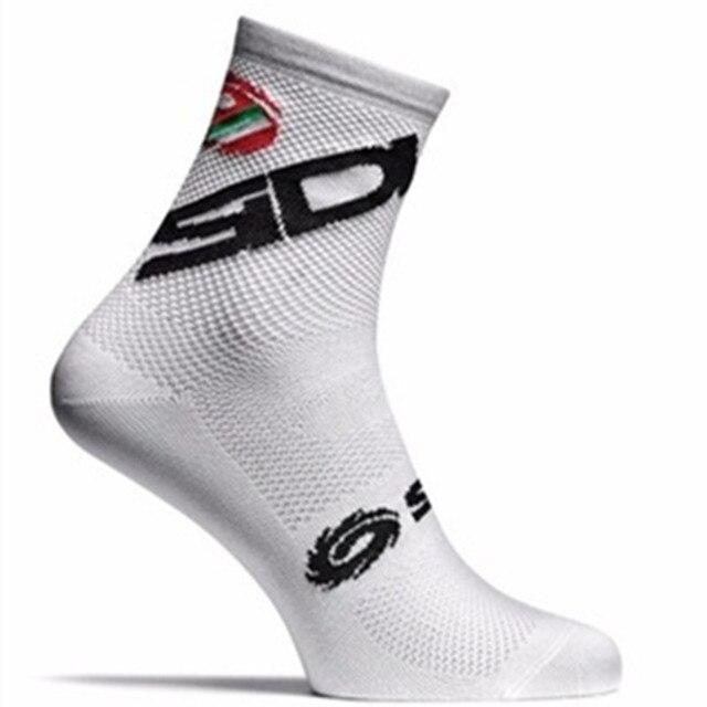 2018 compressprint profissional de alta qualidade marca esporte meias respirável meias da bicicleta estrada ao ar livre esportes corrida ciclismo meias 4
