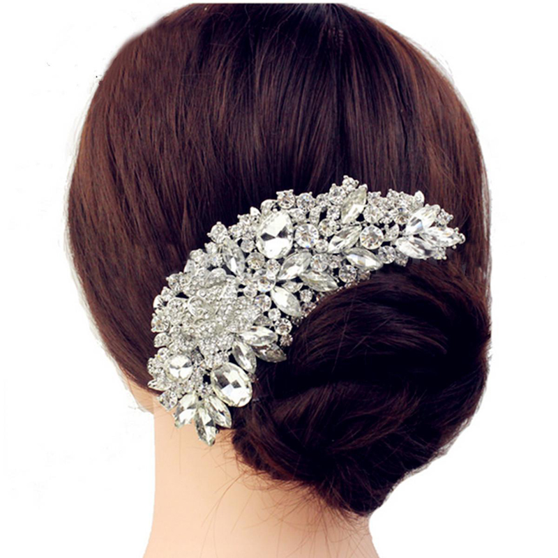 Details about  /Bridal Hair Comb Wedding PromLady Fancy Dress Night Party Supplies Hair Comb MP