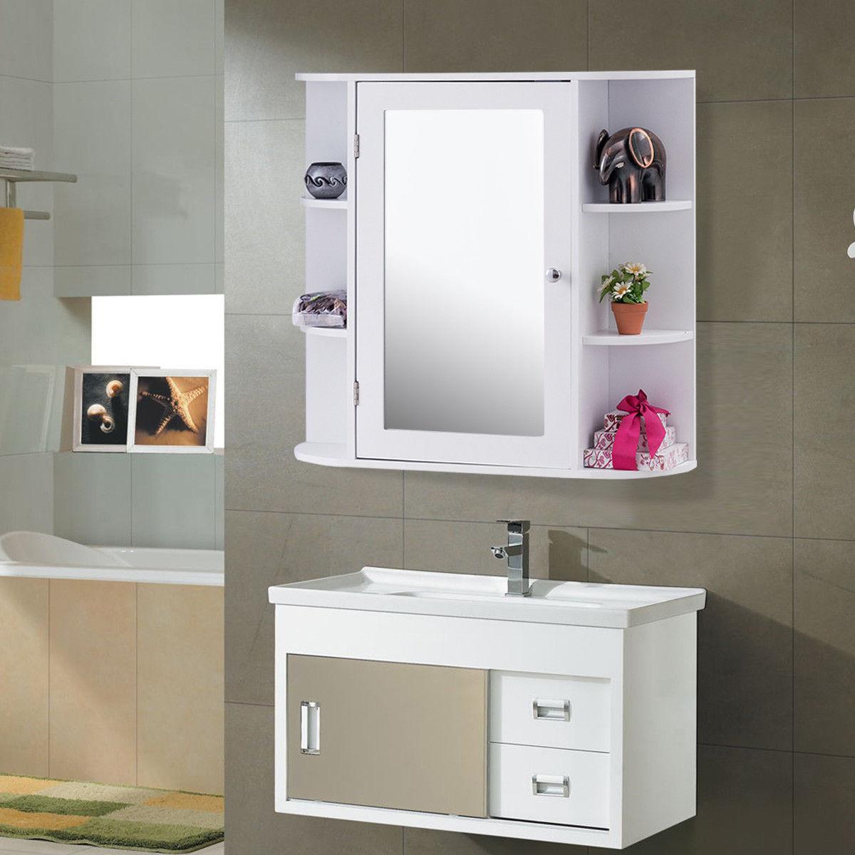 Fullsize Of White Wood Bathroom Shelves