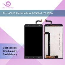Для ASUS Zenfone Max ZC550KL Z010DA ЖК-дисплей ips Дисплей ЖК-дисплей Экран + сенсорный экран Панель дигитайзер в сборе для Asus Дисплей оригинал