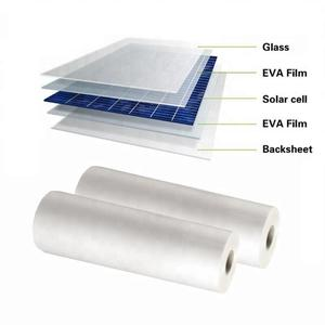 Image 2 - Painel solar branco do pv da largura de allmejores 0.3mm da espessura 680mm backsheet, folha traseira de tpt para o painel solar laminado 6 metros/lote