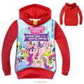 Hot Sale My Little Girls Pony Jacket Winter Coat Children Clothing Kids Jackets Girl Cartoon Clothes Teen ager Hiver Enfant 6 8