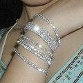 Rhinestone bracelets & bangles,new 2017 bracelets for women accessories bracelets, wedding jewelry