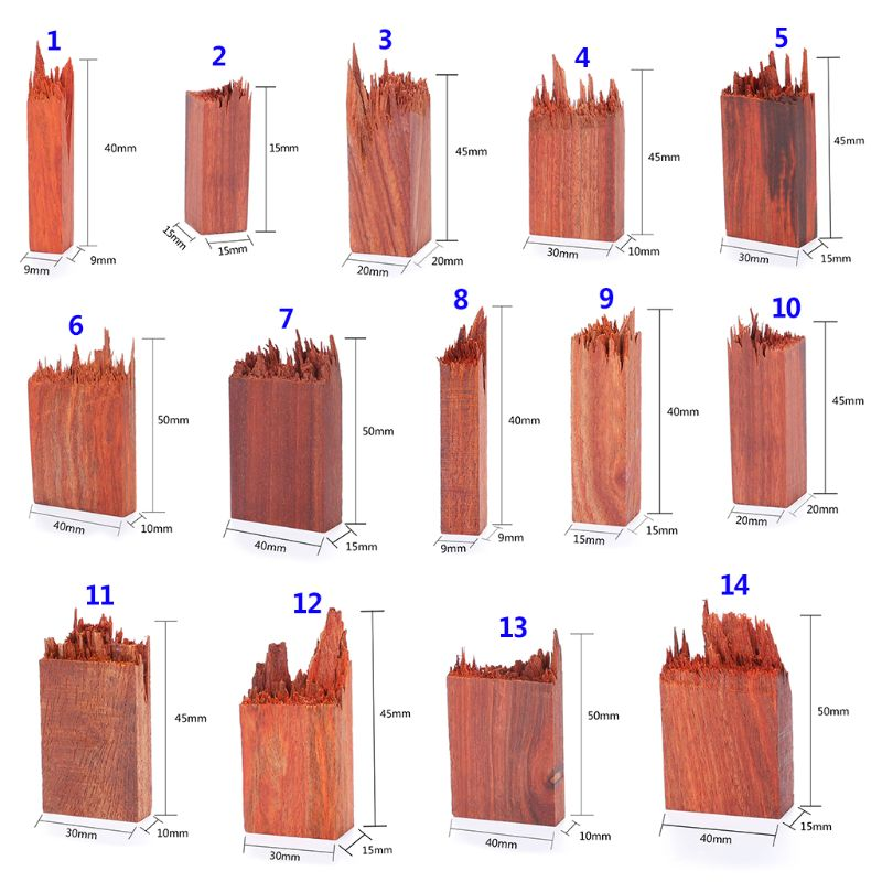 Epoxy Resin Craft Material Blood Sandalwood Art Making DIY Stamp Jewelry Making Necklace Pendant Landscape Decoration Natural Wo