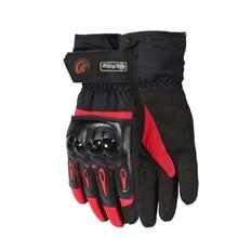 цена на Motorcycle Gloves Biker Winter Windproof Touchscreen Glove Gants Luvas Men Motocross Motorbike Riding Protective Gear Moto Glove