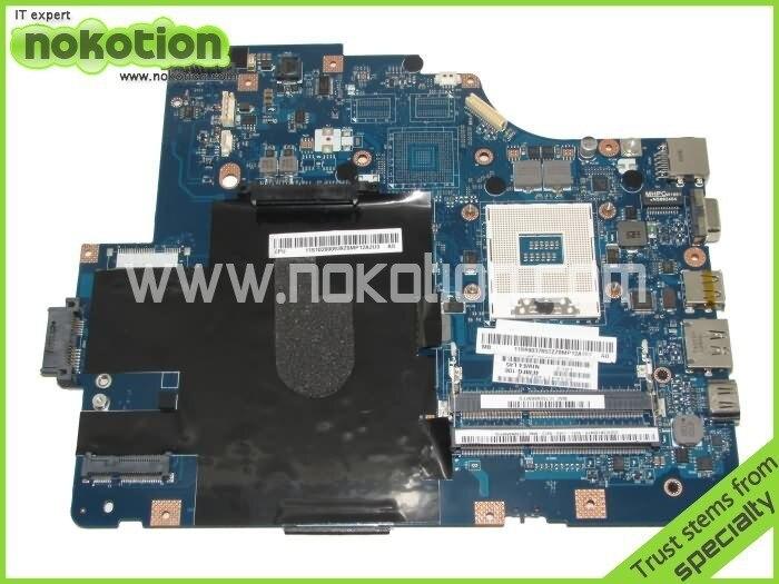 NOKOTION LA-5752P pour Lenovo G560 ordinateur portable carte mère intel HM55 DDR3 carte mère carte mère garantie 60 jours