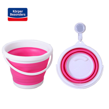 Multi-Functional Cleaning tools 3-10L Outdoor Silicone foldable round Car Wash bucket Fishing Bucket