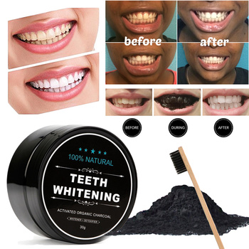 Teeth Whitening Charcoal Powder Activated Charcoal Coconut Tooth Whitening Safe Natural Teeth Whitener Solution фото