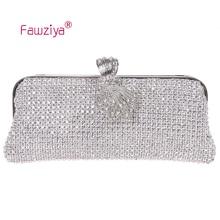 Fawziya Vintage-tasche Diamant Metall Pferdeschwanz Verschluss Mode Frau Tasche