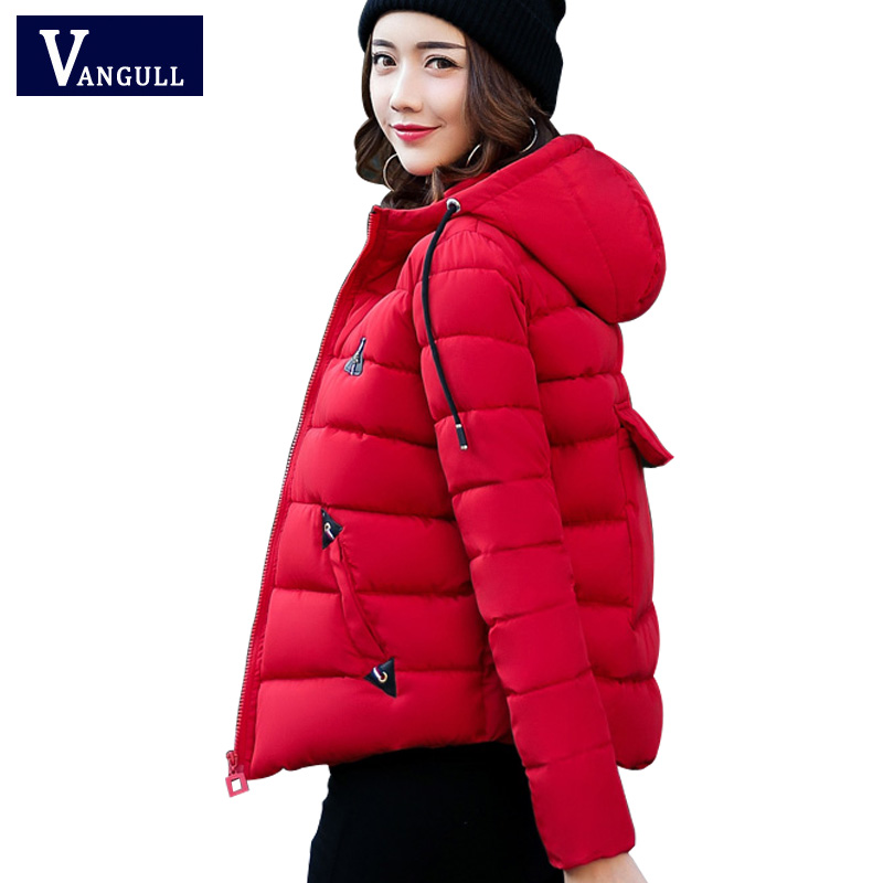 Winter Jacket Women Cotton Short Jacket 2017 New Girls Padded Slim Hooded Warm Parkas Coat Female Autumn Thick Outerwear 2017 new autumn winter women coat thick cotton warm jacket female slim hooded parkas coats with pockets women s clothing