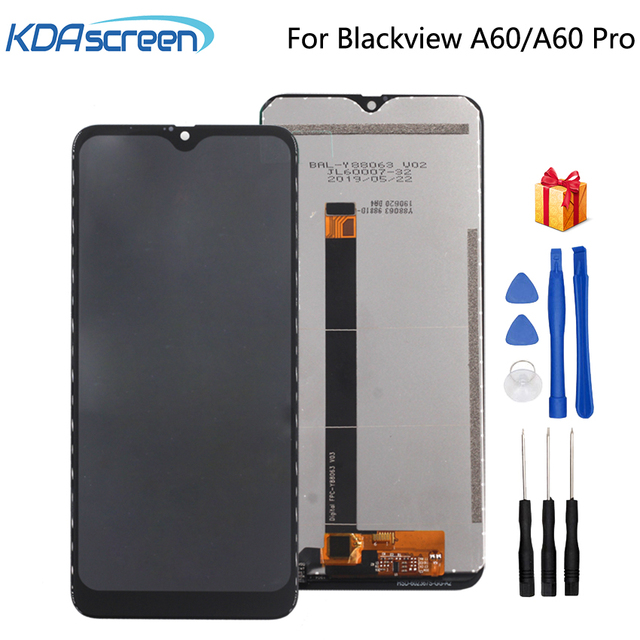Original LCD For Blackview A60 Display Touch Screen Assembly Repair Parts  Pro