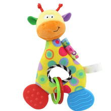 Newborn Baby Infant Animal Soft Rattles Teether Hanging Bell Plush Bebe Toys Fantastic Fabulous Flawless  Cherryb